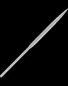 Nadelfeile  Schmirgel - Halbrund