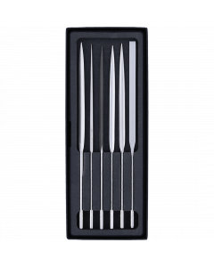 Satz zu 6 Nadelfeilen Schmirgel (in Box)
