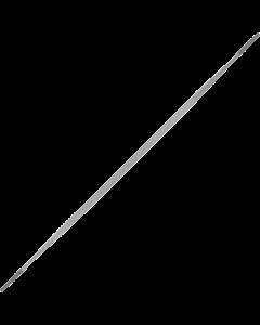 Riffelfeile - Flachstumpf
