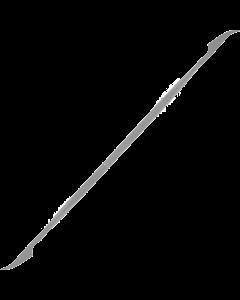 Riffelfeile - Messer dünn rund