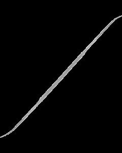 Riffelfeile - Halbrund